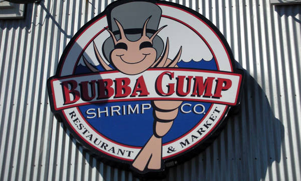 Bubba Gump.