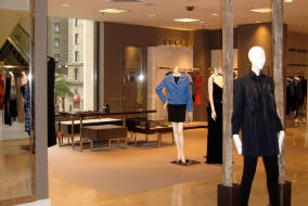 Gucci Boutique Installation at Saks