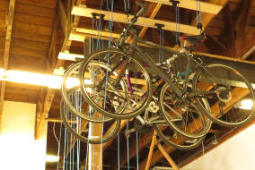Ceiling Bike Pulley System Creation