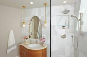 """Spa"" Guest Bathroom Remodel"
