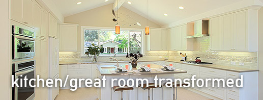 Kitchen/Great Room Transformed